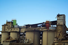 Old Cement factory Stock Image