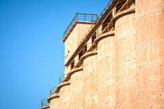 Old Cement factory Royalty Free Stock Images