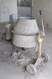 Old cement mixer Royalty Free Stock Image