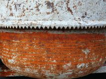 Old Cement Mixer Detail Stock Image