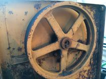 Old cement mixer with rust.  Royalty Free Stock Photos