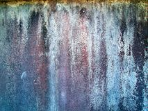 The old cement plaster wall Royalty Free Stock Images