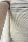 Old cement structure  ceiling pattern Royalty Free Stock Photography