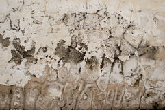 Old cement textured wall. White shade Royalty Free Stock Images