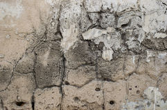 Old cement textured wall. White shade Royalty Free Stock Photography