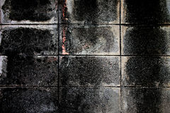 Old cement wall texture of dark color. Royalty Free Stock Photo