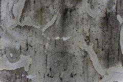 The old cement wall through weathered and old and crack corrosive. As a space background stock images