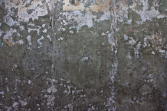 The old cement walls. Stock Images