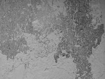Old cement white wall background texture Stock Photography