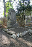 Old cemetary. Historical part of Pyatigorsk Stock Photography