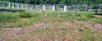Old Cemetery – Blue Ridge Parkway Stock Image