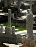 Old cemetery. Tombs. Old cemetery in San Juan, Puerto Rico Stock Image