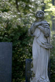 Old cemetery angel Stock Photos