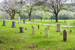 An old cemetery in the Cades Cove in the Great Smoky Mountains National Park. An old cemetery in the Cades Cove section of the Great Smoky Mountains National Stock Photos