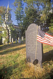 Old Cemetery, Concord, Massachusetts Stock Image