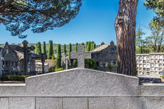 Old cemetery in detail from Catalonia Royalty Free Stock Photos