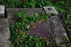 The old cemetery Stock Photos