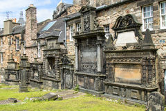 Old cemetery in Edinburgh Scotland Royalty Free Stock Photography