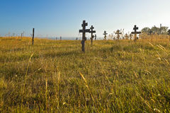 Old cemetery in Fort Ross Royalty Free Stock Photography