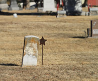 Old Cemetery Gravestone Royalty Free Stock Photos