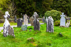 Old Cemetery in Ireland. Royalty Free Stock Photo