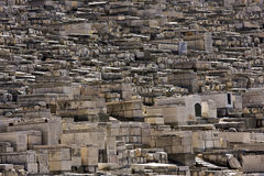 Old cemetery in Jerusalem Stock Photography