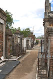 Old cemetery New Orleans Royalty Free Stock Photography