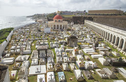 Old cemetery in San Juan, Puerto Rico Stock Images