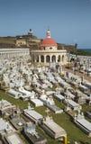 Old cemetery in San Juan, Puerto Rico. Old cemetery in San Juan royalty free stock image