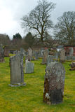 Old cemetery in Scotland Stock Photos
