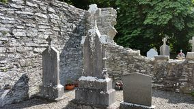 The old cemetery. Old cemetery in southern ireland Stock Image
