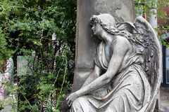 Old Cemetery statue Royalty Free Stock Photos