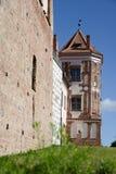 Old center of Belorussian city Stock Photos