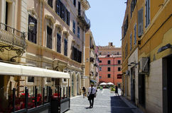 The old center of Civitavecchia Royalty Free Stock Photography