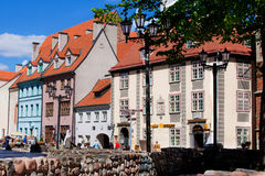 The old center of Riga Royalty Free Stock Photography