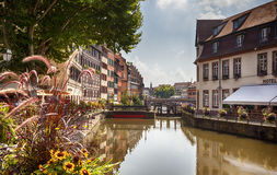 Old center of Strasbourg Royalty Free Stock Photography