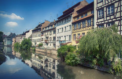 Old center of Strasbourg Royalty Free Stock Photo