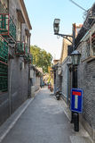 Old centre of Beijing city, Hutong Royalty Free Stock Images