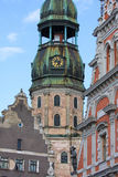 Old Centre of Riga, Latvia Royalty Free Stock Photos