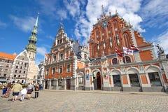 Old centre of Riga, Latvia Royalty Free Stock Photo