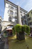 Old centre of Vevey, Switzerland Royalty Free Stock Photo