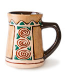 Old Ceramic Beer Mug Royalty Free Stock Photography