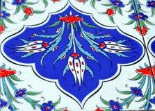 Old ceramic  oriental tile Royalty Free Stock Image