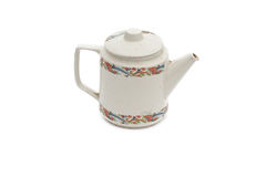 Old ceramic teapot Stock Images