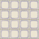 Old ceramic tile royalty free stock photos