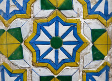 Old ceramic tile Stock Photo