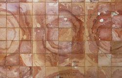 Old ceramic tile abstract background Stock Photography