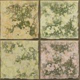 Old ceramic tile. Royalty Free Stock Photo