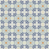 Old ceramic tiles patterns background Royalty Free Stock Image