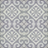 Old ceramic tiles patterns Stock Images
